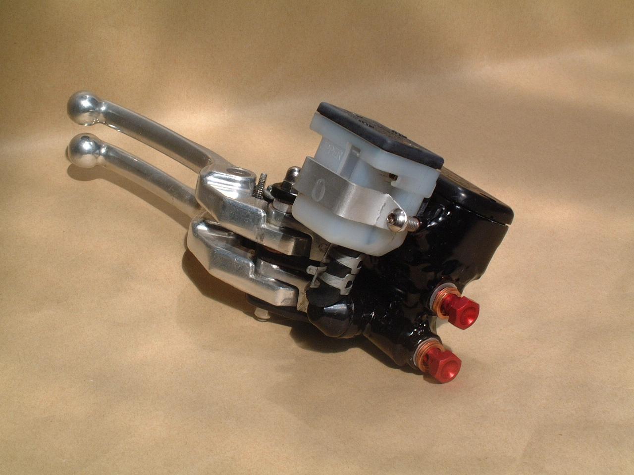 harley hydraulische bremse